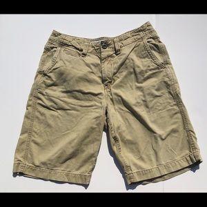 American Eagle Mens Size 30 Longboard Khaki Shorts